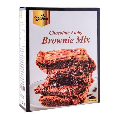 Bakea Chocolate Fudge Brownie Mix, 480g