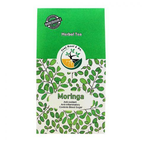 Leaf Root Moringa Herbal Tea, Tea Bags, 20-Pack