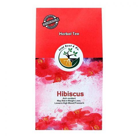 Leaf Root Hibiscus Herbal Tea, Tea Bags, 20-Pack