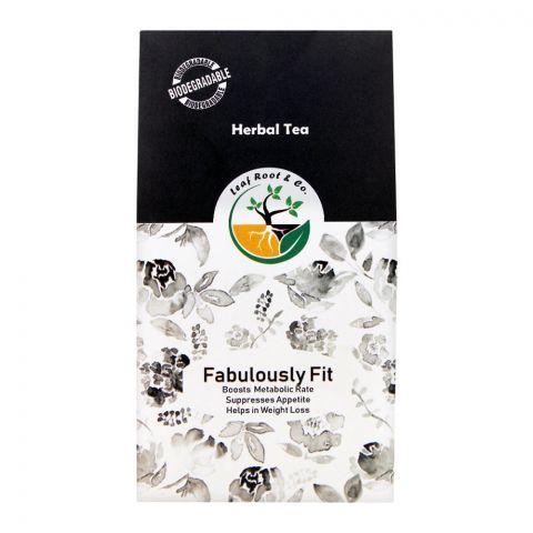 Leaf Root Fabulously Fit Herbal Tea, Tea Bags, 20-Pack
