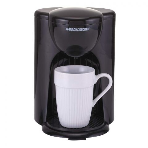 Black & Decker One Cup Coffee Maker, 330 Watts, DCM25