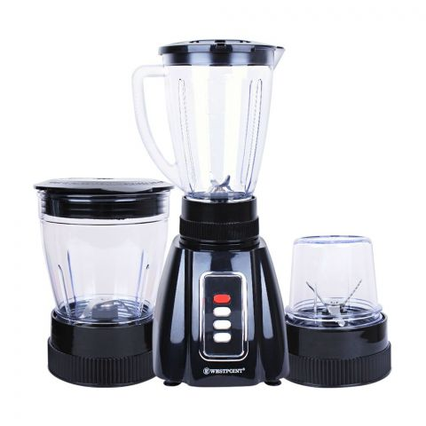 West Point Deluxe 3-In-1 Blender + Grinder, WF-302
