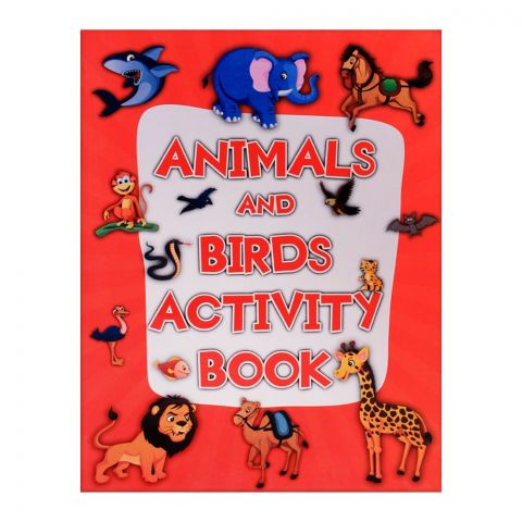 Pegasus Animals And Birds Activity Book
