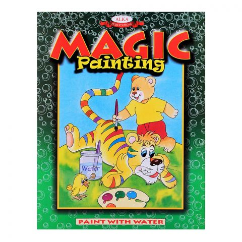 Alka Magic Painting With Water Green Book