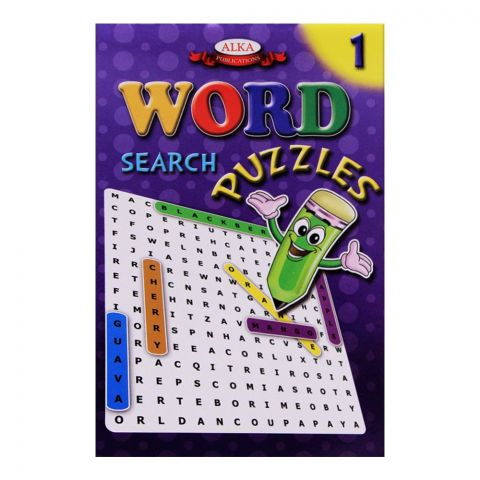 Alka Word Search Puzzles No. 1 Book
