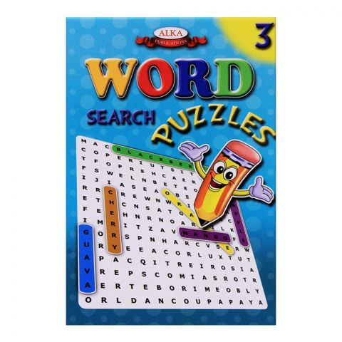 Alka Word Search Puzzles No. 3 Book