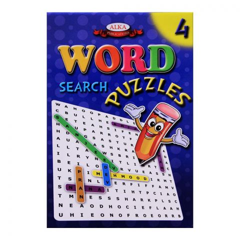 Alka Word Search Puzzles No. 4 Book
