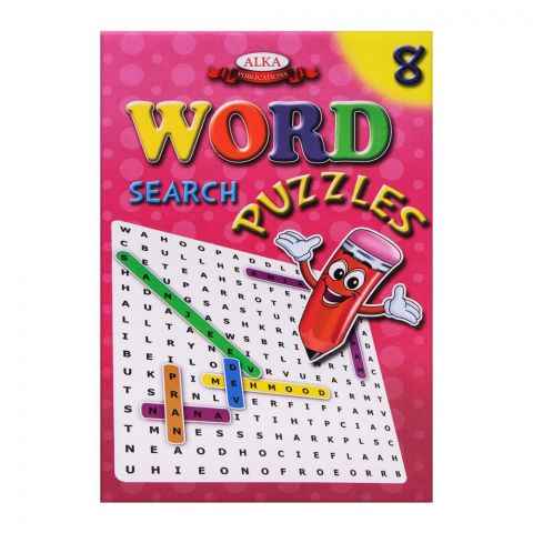 Alka Word Search Puzzles No. 8 Book