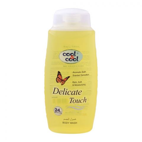 Cool & Cool Delicate Touch Body Wash, 500ml
