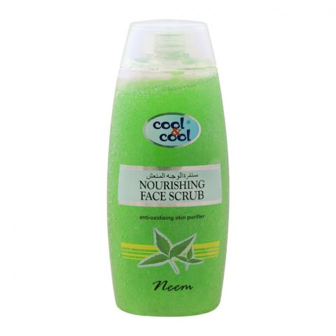 Cool & Cool Neem Nourishing Face Scrub, 200ml