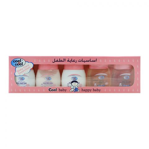 Cool & Cool Baby Care Essential Kit, 5 Pieces, 30ml