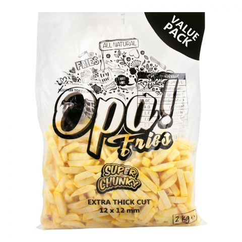 Opa! Fries Super Chunky