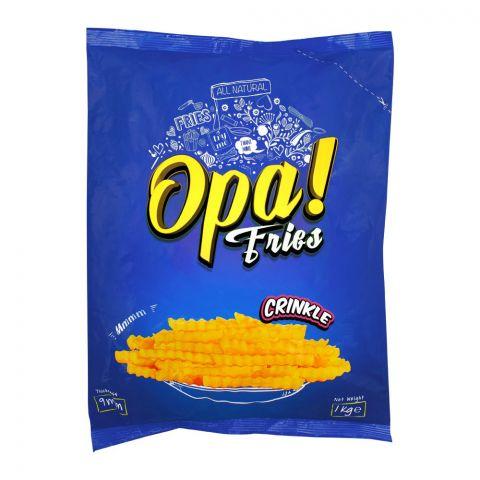 Opa! Fries Crinkle, 9mm, 1 KG