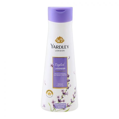 Yardley English Lavender Moisturising Shower Cream, 250ml