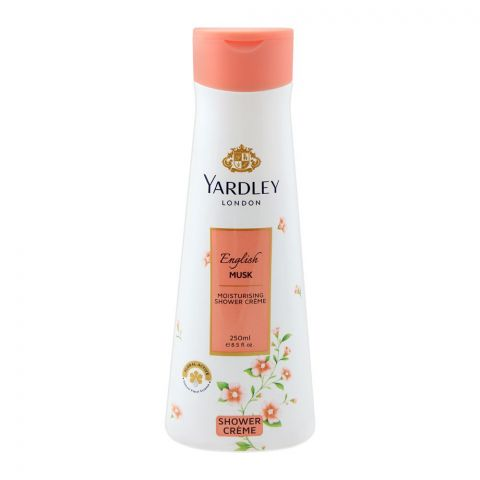 Yardley English Musk Moisturising Shower Cream, 250ml