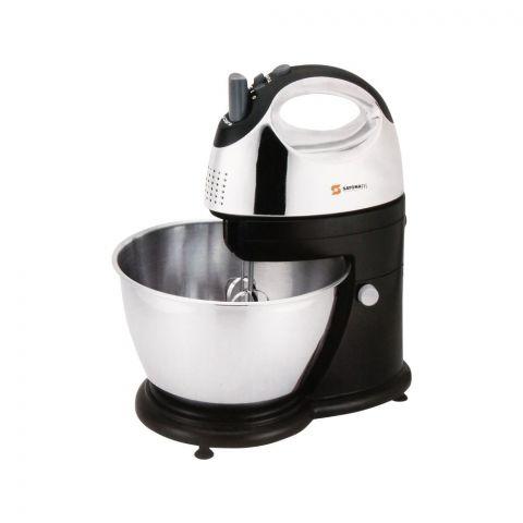 Sayona Hand Mixer With Bowl, 4L, SJ-7200-S