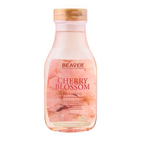 Beaver Cherry Blossom Miracle Beauty Power Shampoo, 350ml