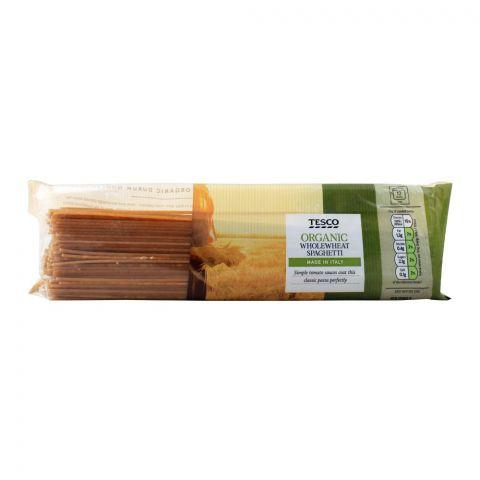 Tesco Organic Whole Wheat Spaghetti, 500g