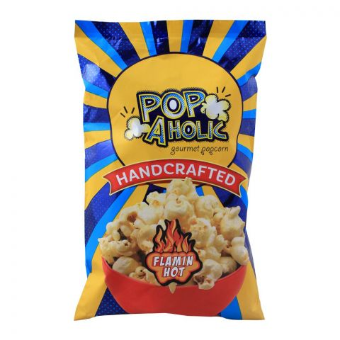 Popaholic Handcrafted Flamin Hot Popcorn