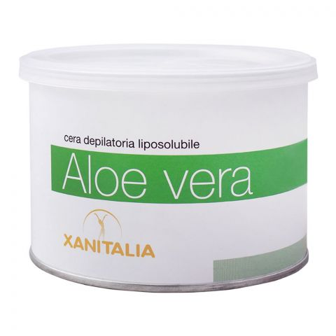 Xanitalia Aloe Vera Liposoluble Depilatory Hair Removal Wax, 400ml