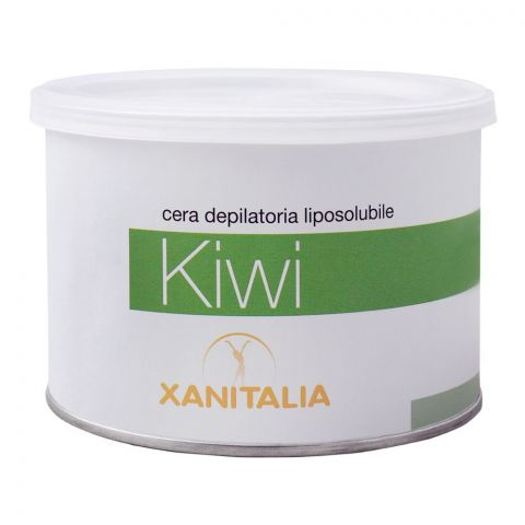 Xanitalia Kiwi Liposoluble Depilatory Hair Removal Wax, 400ml