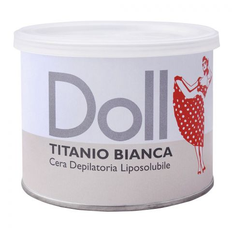 Xanitalia Doll Titanio Bianca Liposoluble Depilatory Hair Removal Wax, 400ml