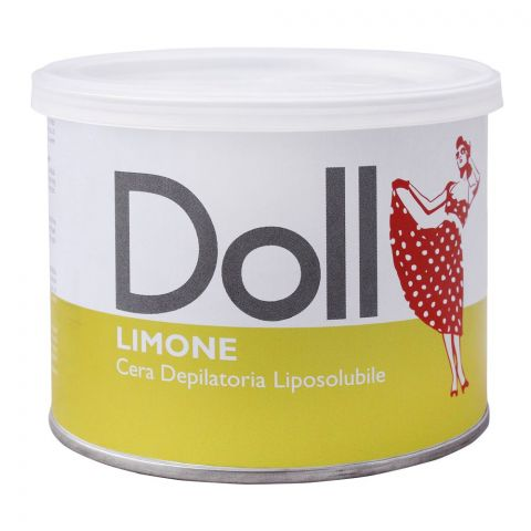 Xanitalia Doll Limone Liposoluble Depilatory Hair Removal Wax, 400ml