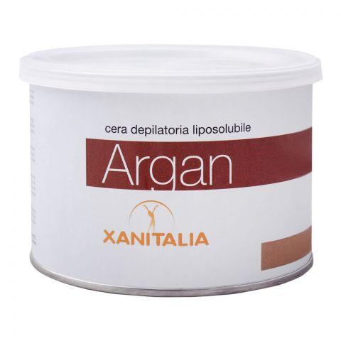 Xanitalia Argan Liposoluble Depilatory Hair Removal Wax, 400ml