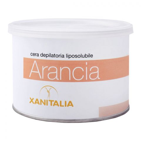 Xanitalia Arancia Liposoluble Depilatory Hair Removal Wax, 400ml