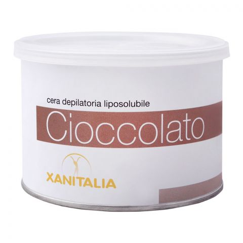 Xanitalia Cioccolato Liposoluble Depilatory Hair Removal Wax, 400ml