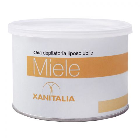Xanitalia Miele Liposoluble Depilatory Hair Removal Wax, 400ml