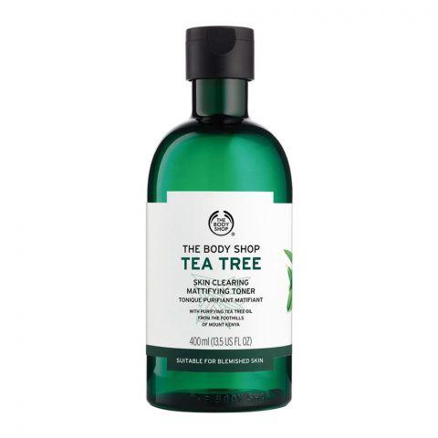 The Body Shop Tea Tree Skin Clearing Mattifying Toner, 400ml