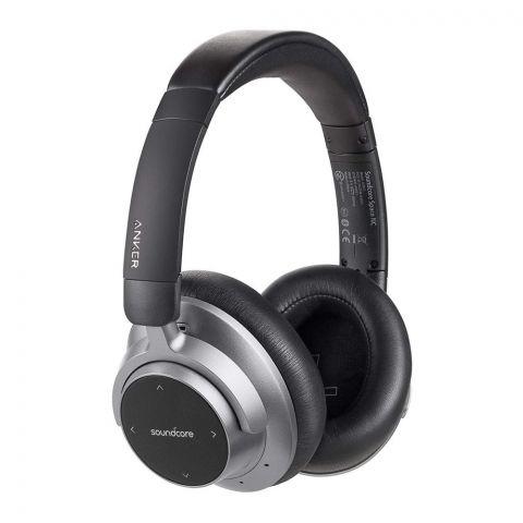 Anker SoundCore Space NC Wireless Headphones, Black, Bluetooth, A30210F1