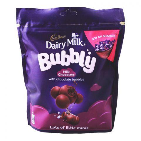 Cadbury Dairy Milk Bubbly Mini Bars, 204g, Bag