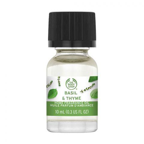 The Body Shop Basil & Thyme Home Fragrance Oil, 10ml