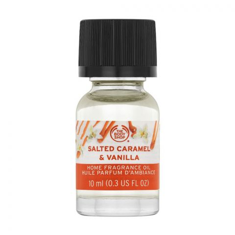 The Body Shop Salted Caramel & Vanilla Home Fragrance Oil, 10ml