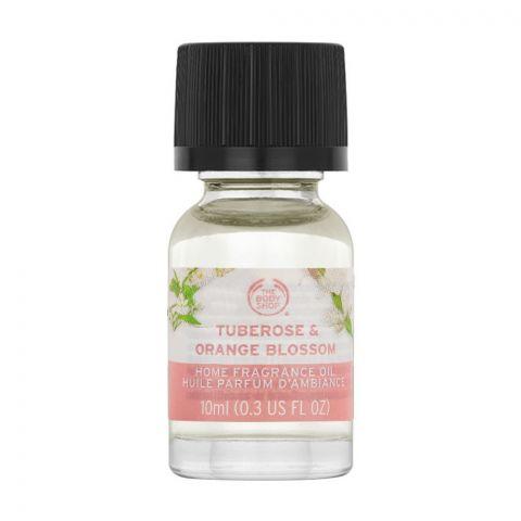 The Body Shop Tuberose & Orange Blossom Home Fragrance Oil, 10ml