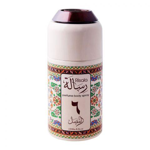 Risala 6 Deodorant Perfume Body Spray, 250ml