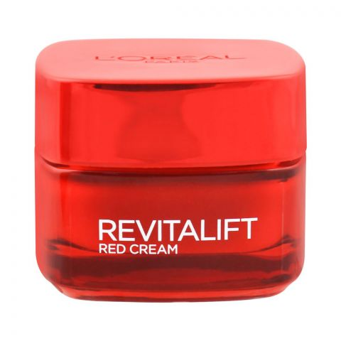 L'Oreal Paris Revitalift Energising Red Ginseng Day Cream, Anti-Wrinkle, 50ml