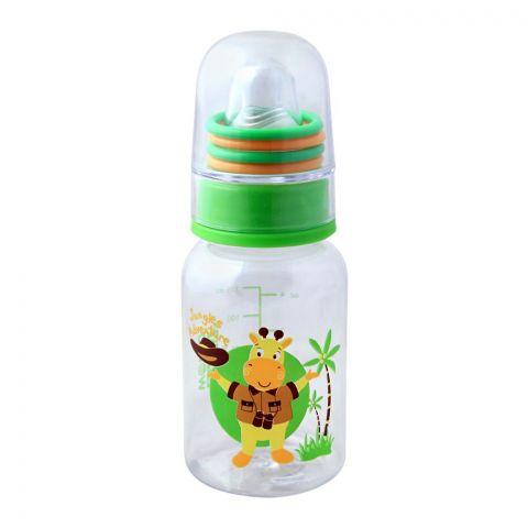 Baby World Animals Baby Feeding Bottle, Jungles Adventure, 125ml, BW4006