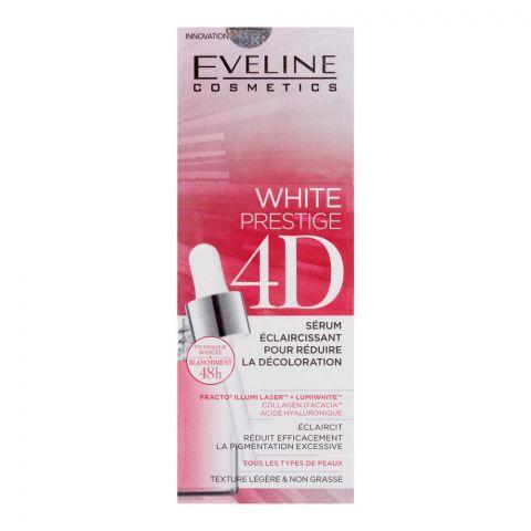 Eveline 48H White Prestige 4D Lightening Serum Booster, 18ml