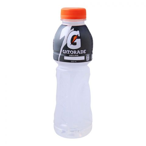 Gatorade Sports Drink, White Lightning, 500ml