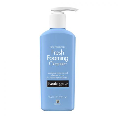 Neutrogena Fresh Foaming Cleanser, Makeup Remover + Cleanser, 283ml