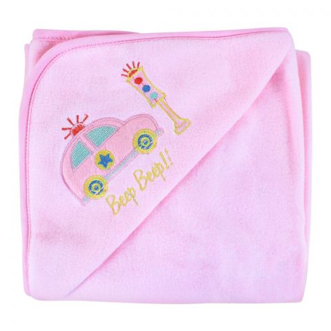 Angel's Kiss Fleece Wrapping Sheet, Pink