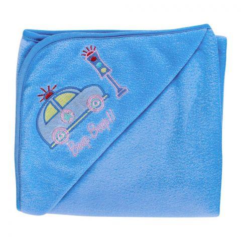 Angel's Kiss Fleece Wrapping Sheet, Blue