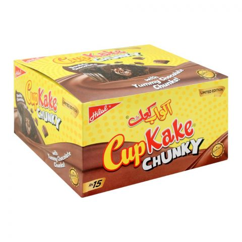 Hilal Cup Kake, Chunky Double Chocolate, 12 Pieces, 26g