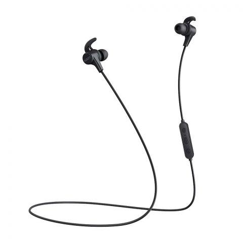 Aukey Latitude Lite Wireless Earbuds, Black, EPB40S