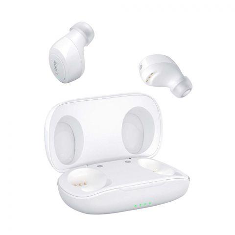 Aukey Latitude Series True Wireless Sports Earbuds, White, EPT16S
