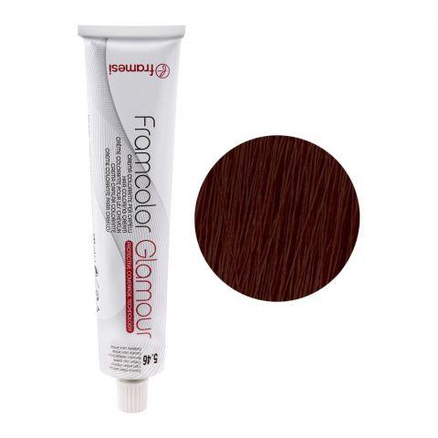 Framesi Framcolor Glamour Hair Coloring Cream, 5.64 Dark Chocolate Light Chestnut
