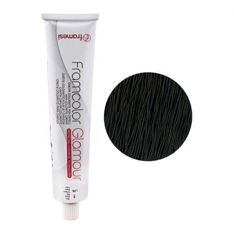 Framesi Framcolor Glamour Hair Coloring Cream, 1 Black